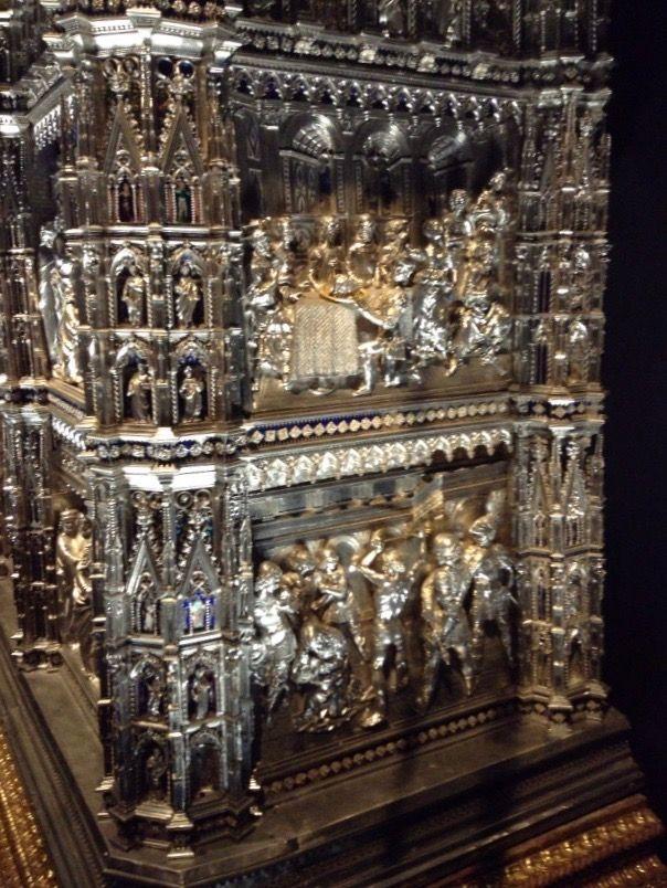 大聖堂付属美術館 銀の祭壇