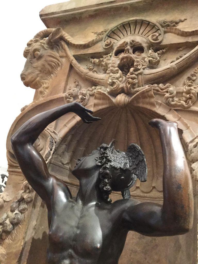 バルジェッロ美術館 チェッリーニ ペルセウス台座