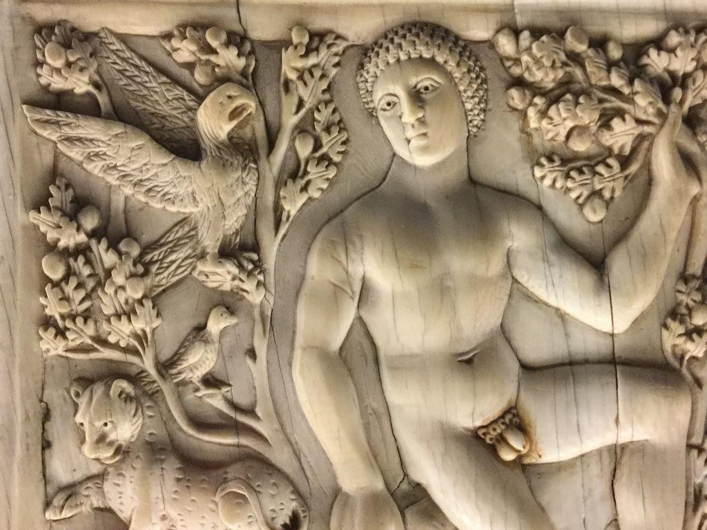 バルジェッロ美術館 天国のアダム ディプティック
