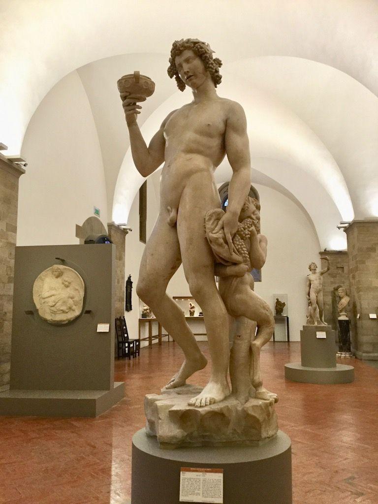 バルジェッロ美術館 ミケランジェロ バッカス