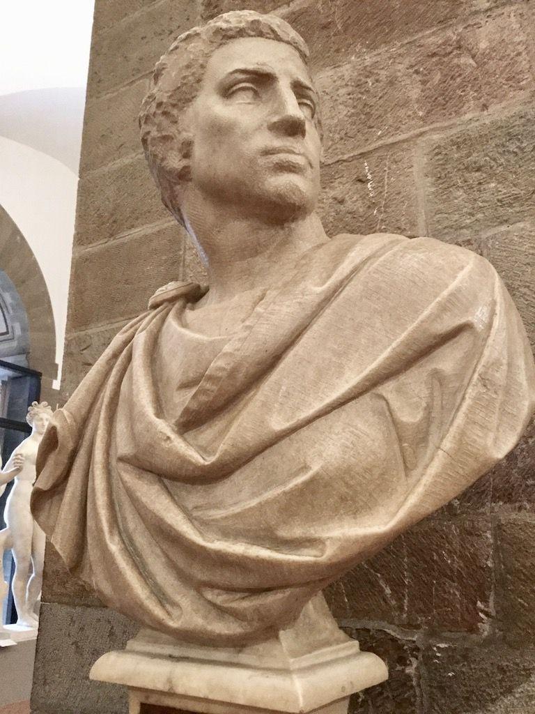 バルジェッロ美術館 ミケランジェロ ブルータス