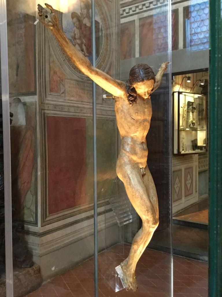 ヴェッキオ宮殿 ミケランジェロ 磔刑像
