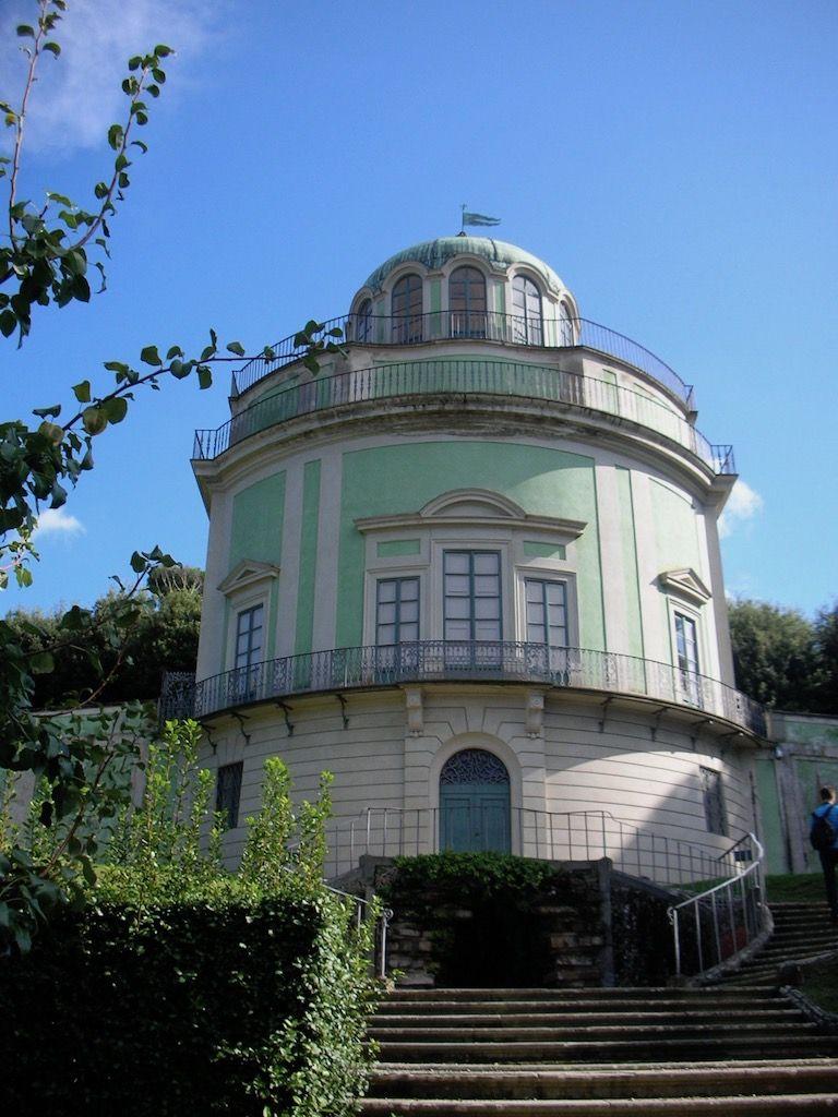 ピッティ宮殿 ボーボリ庭園 カフェハウス