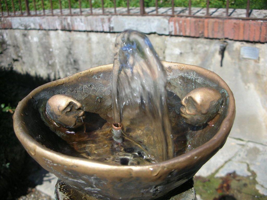 ピッティ宮殿 ボーボリ庭園 水飲み場