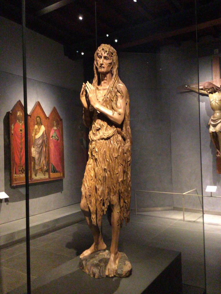 大聖堂付属美術館 ドナテッロ マグダラのマリア