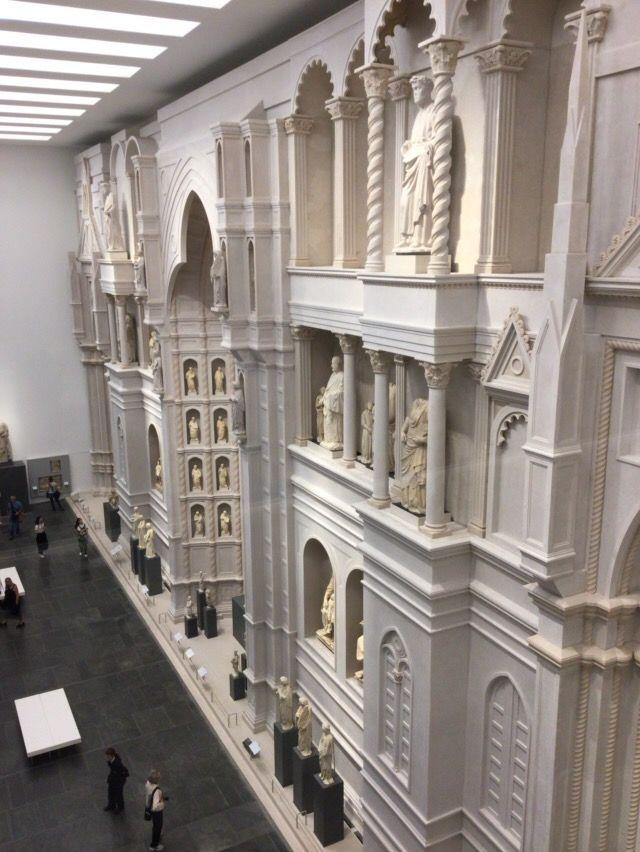 大聖堂美術館 アルノルフォのファサード実物大再現