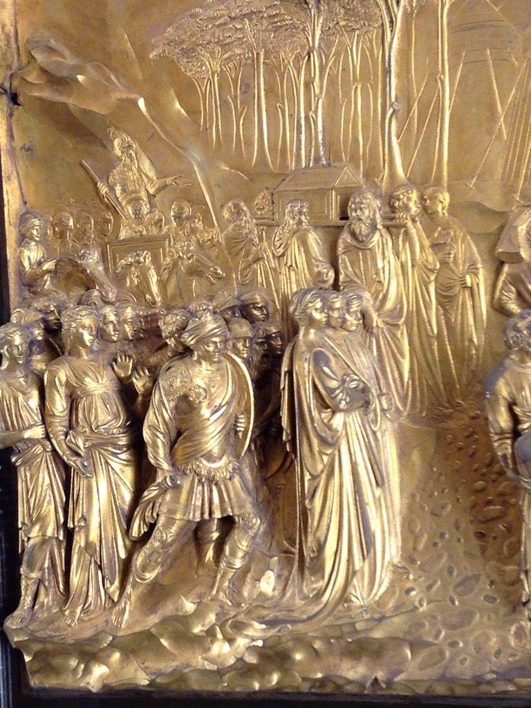 大聖堂付属美術館 ギベルティ 天国の門 細部