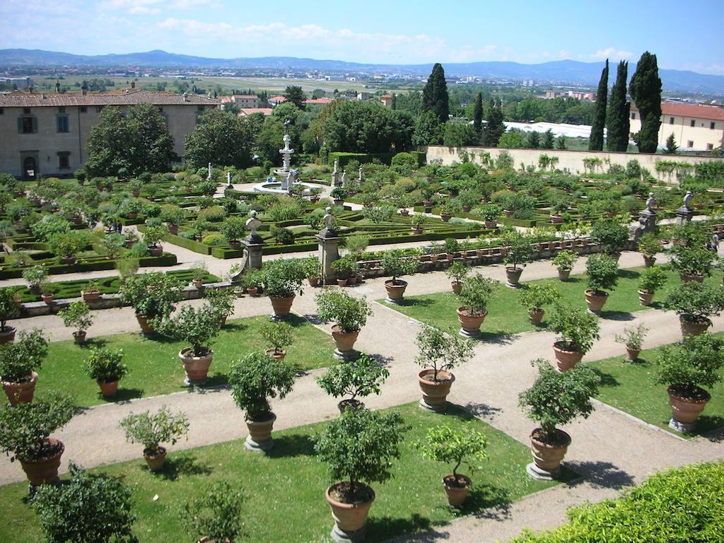 メディチ別荘 カステッロ イタリア式庭園