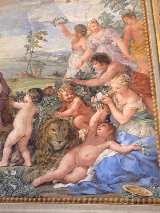 ピッティ宮殿 パラティーナ美術館 ピエトロ・ダ・コルトーナ