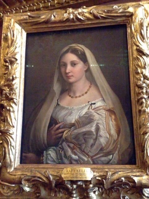 ピッティ宮殿 パラティーナ美術館 ラッファエッロ