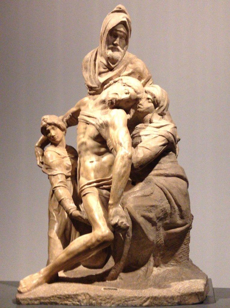 フィレンツェ大聖堂 ミケランジェロ バンディーニのピエタ