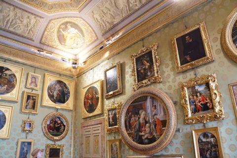 パラティーナ美術館 ピッティ宮殿 プロメテウスの間