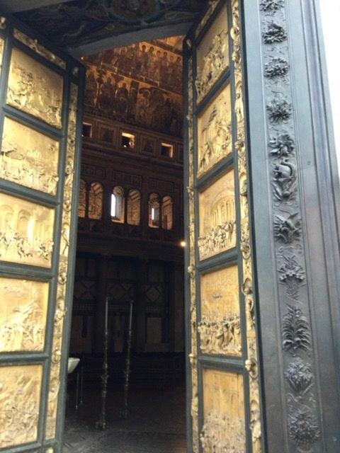 洗礼堂 天国の門 ギベルティ