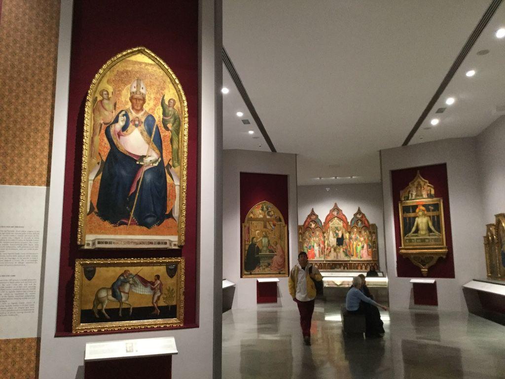 アカデミア美術館 2階