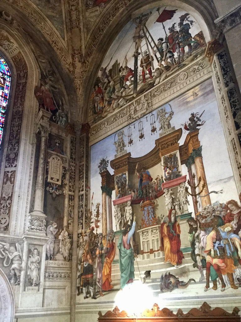 サンタ・マリア・ノヴェッラ教会 ストロッツィ家礼拝堂 フィリッピーノ・リッピ