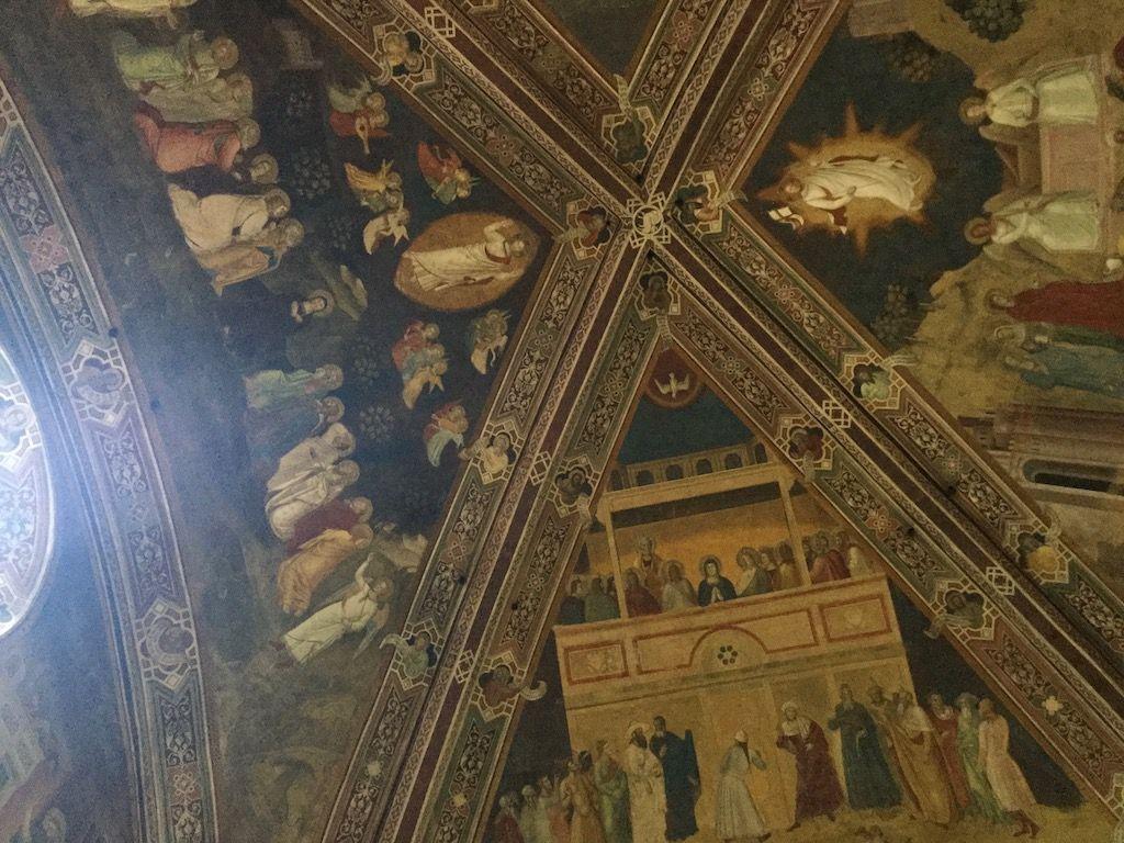 サンタ・マリア・ノヴェッラ教会 スペイン人達の礼拝堂