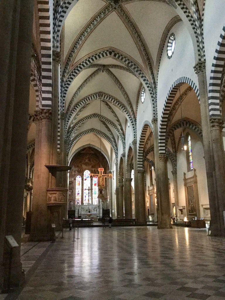 サンタ・マリア・ノヴェッラ教会 内部