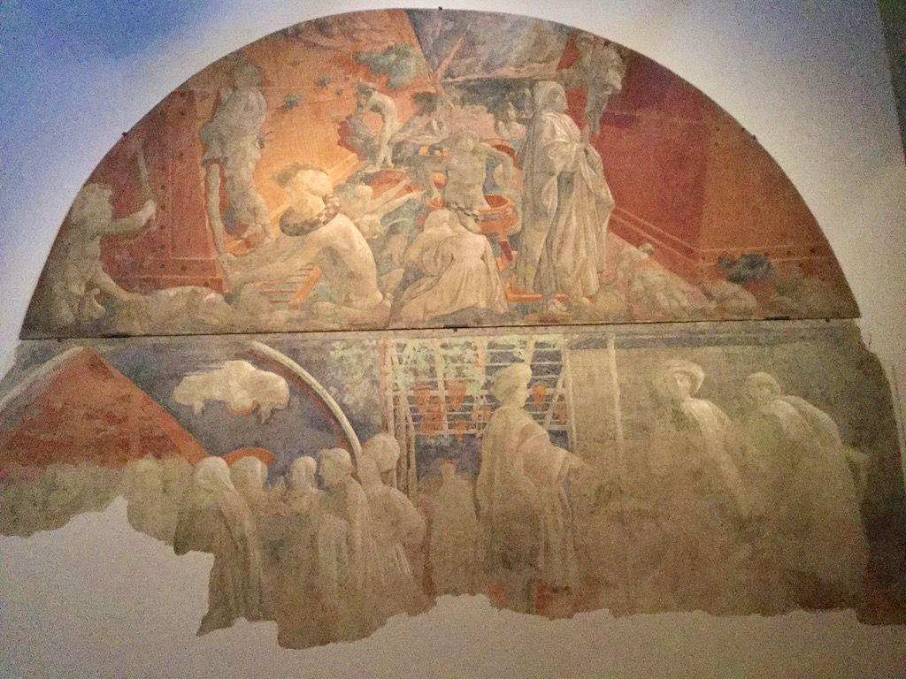 サンタ・マリア・ノヴェッラ教会 パオロ・ウッチェッロ フレスコ画
