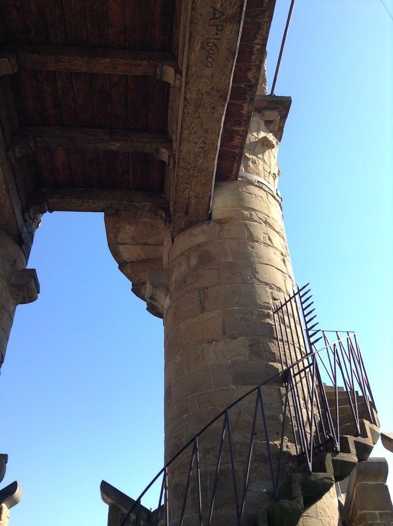 ヴェッキオ宮殿 アルノルフォの塔の上