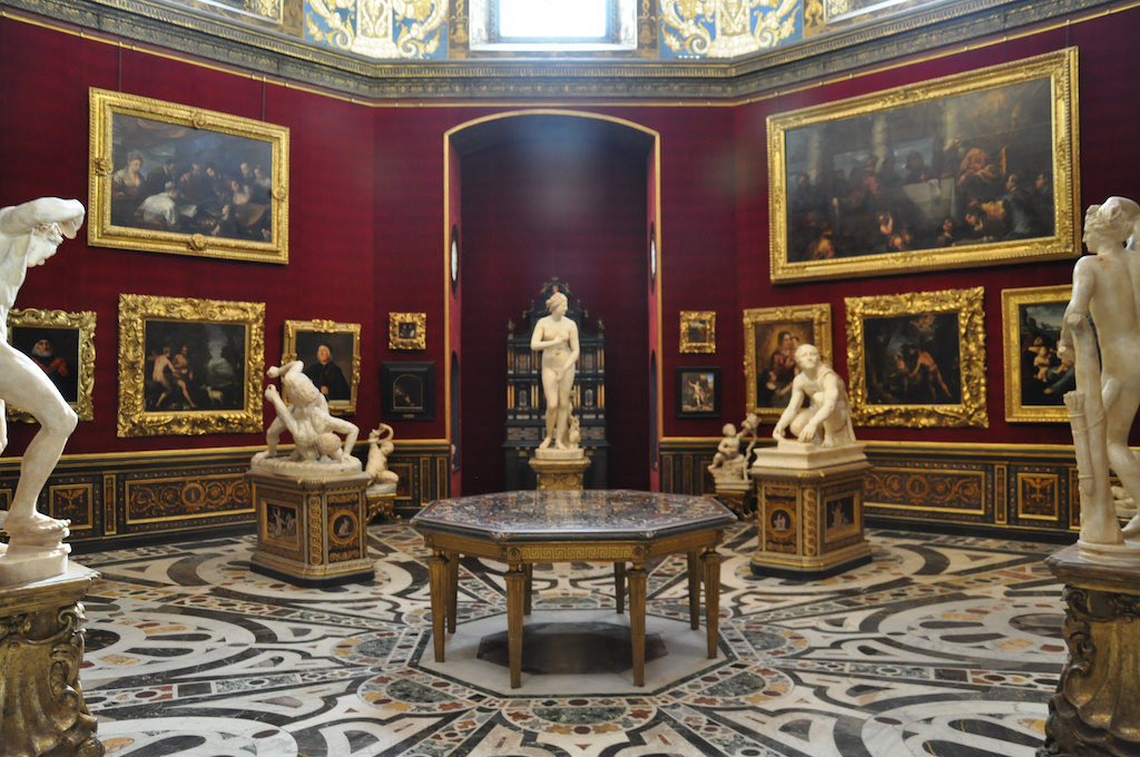 ウフィツィ美術館 トリブーナ