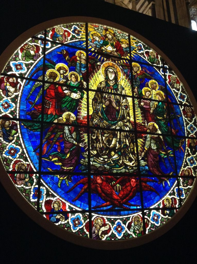 フィレンツェ大聖堂 ギベルティ 薔薇窓