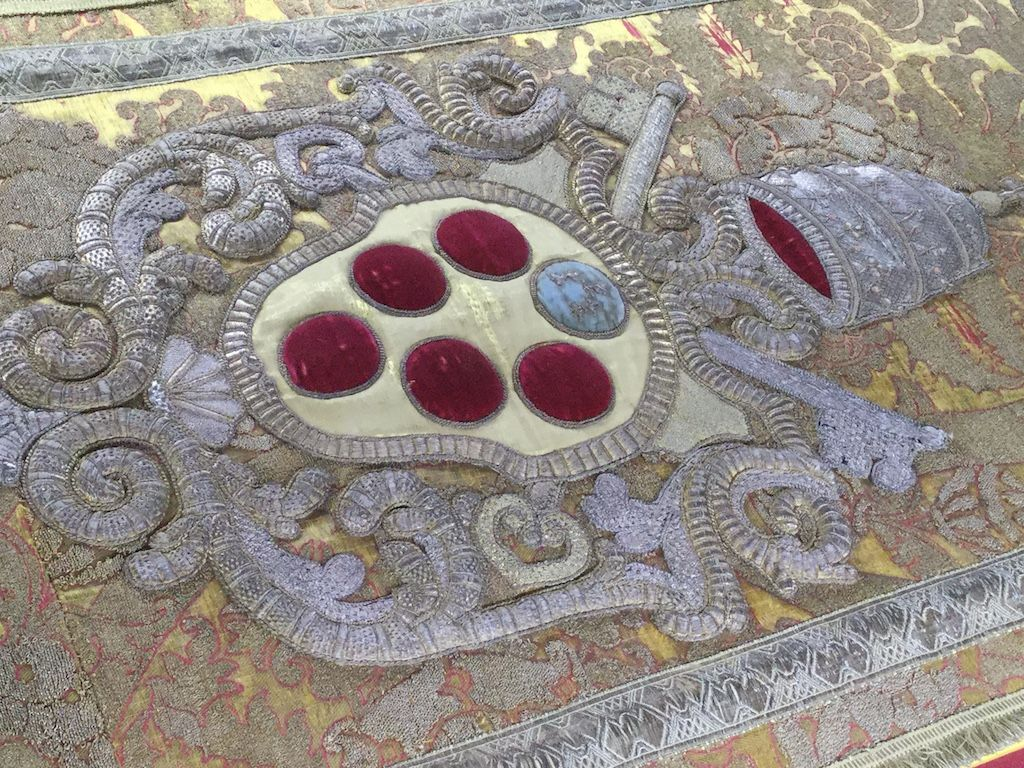 メディチ家礼拝堂 レオ10世の幕