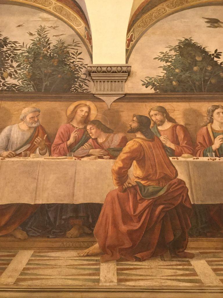 最後の晩餐 ギルランダーイオ