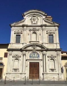 オンニッサンティ教会 ファサード