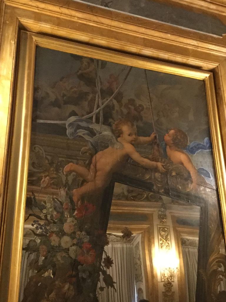 メディチ・リッカルディ宮殿 鏡の間 バルトロメーオ・ビンビ