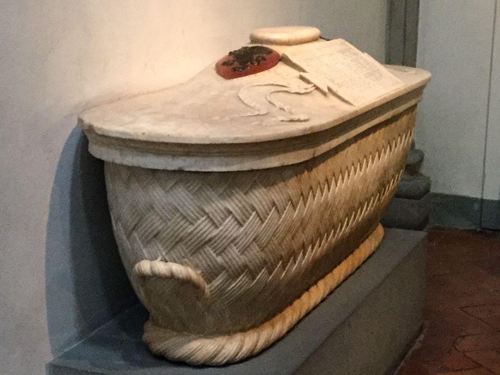 サン・ロレンツォ教会 ドナテッロ マルテッリ家の棺桶