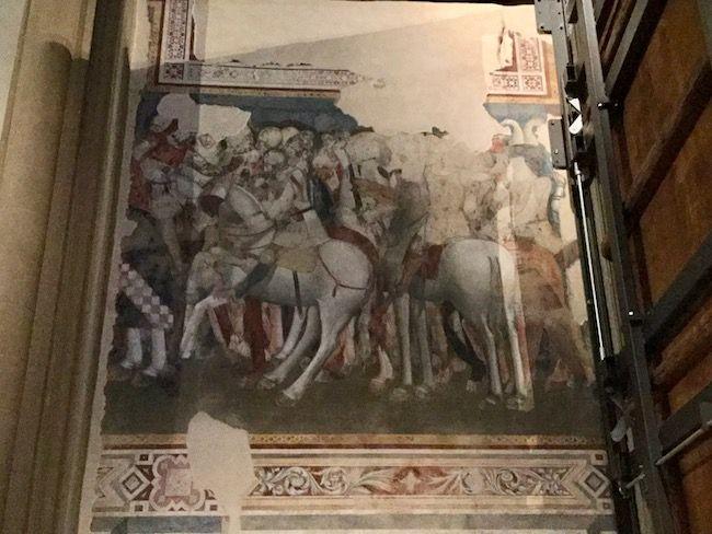 サンタ・マリア・ノヴェッラ ブルーノ 戦いの図