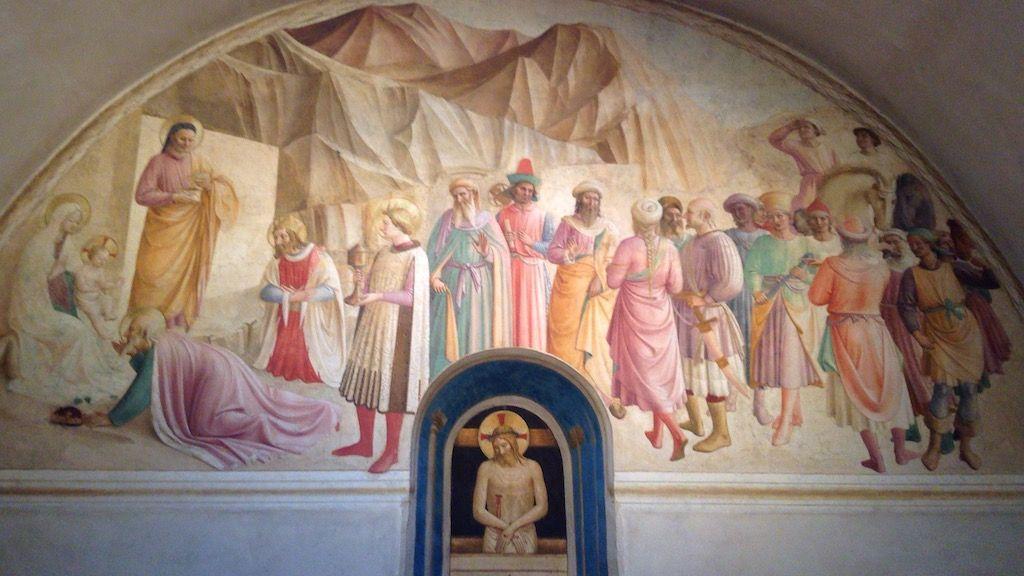 サン・マルコ美術館 老コジモ 礼拝堂