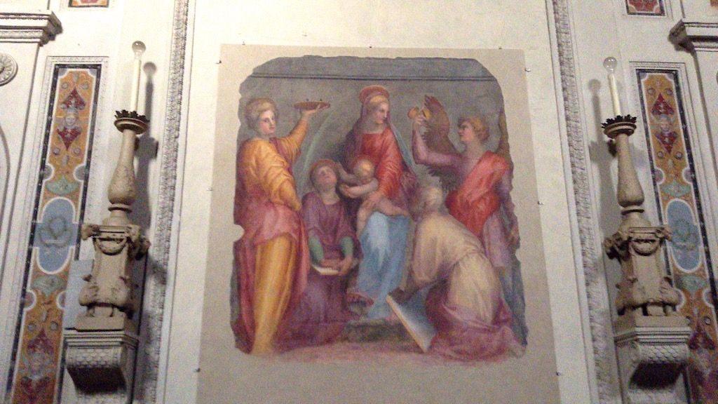 ポントルモ 聖ルーカの礼拝堂