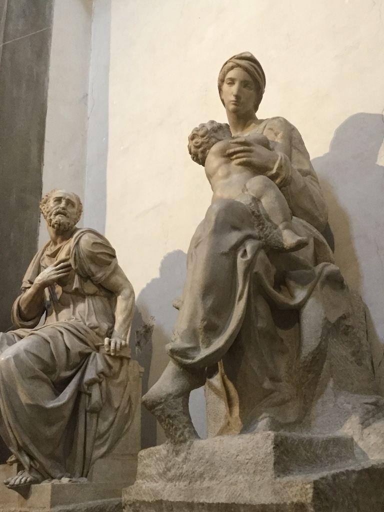 メディチ家礼拝堂 ミケランジェロ 偉大なるロレンツォとジュリアーノの霊廟