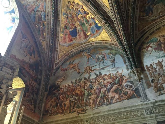 サン・ブリツィオ礼拝堂