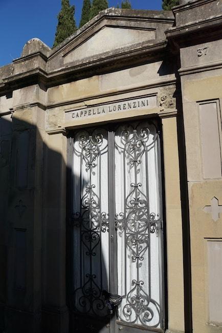 ポルテ・サンテ墓地 カルロ・コッローディの墓 ピノッキオ