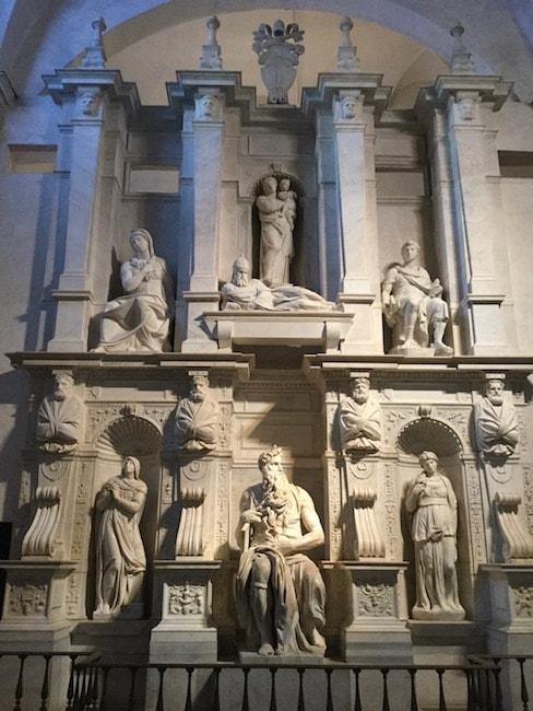 ミケランジェロ ジュリオ2世の霊廟