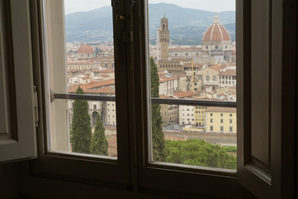 ヴィッラ・バルディーニ 窓