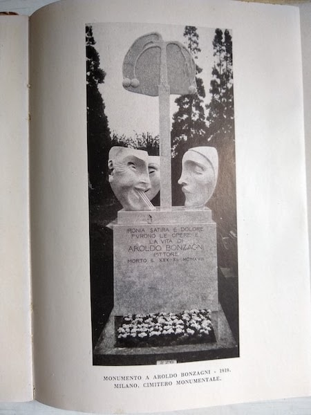 アドルフォ・ヴィルト Aroldo Bonzagni の墓