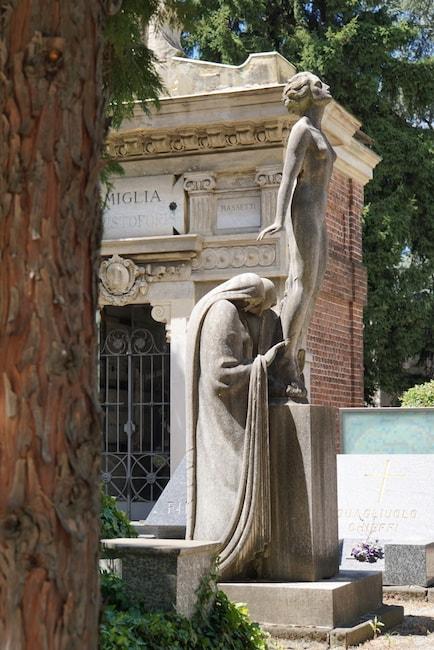 ミラノ 墓地 魂の上昇