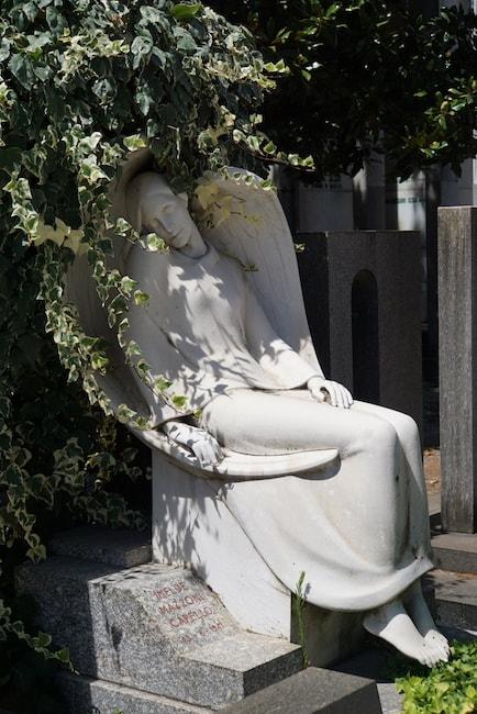 ミラノ 墓 天使