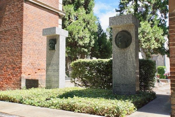 アドルフォ・ヴィルト 墓
