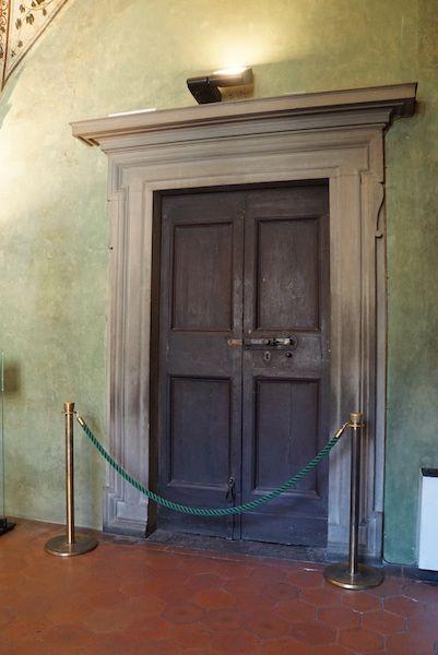 ヴァザーリの回廊 入り口