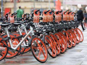 自転車シェアリング フィレンツェ