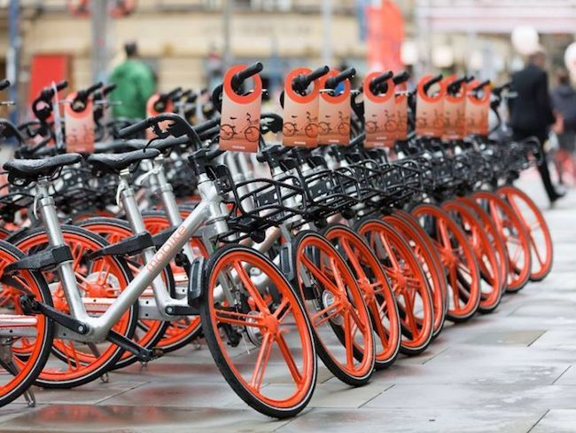 Mobike for Mobile milano bike sharing