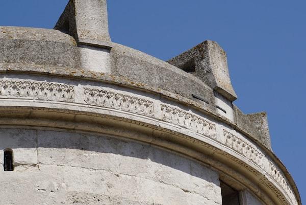 テオドーリコの霊廟 屋根