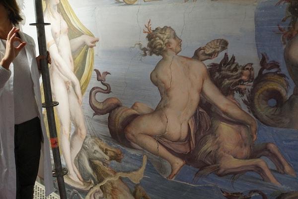 ヴェッキオ宮殿 修復