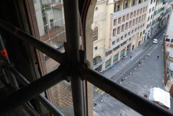ヴェッキオ宮殿 修復見学