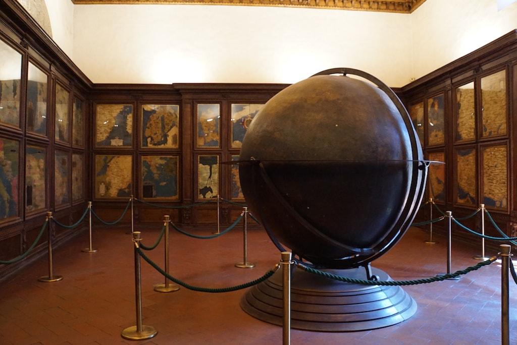 ヴェッキオ宮殿 地図の間 クローク