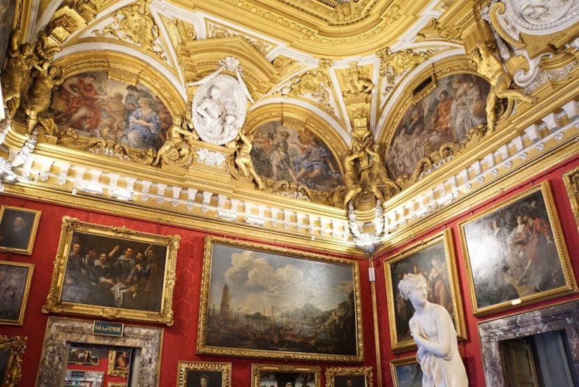 ピッティ宮殿 パラティーナ美術館